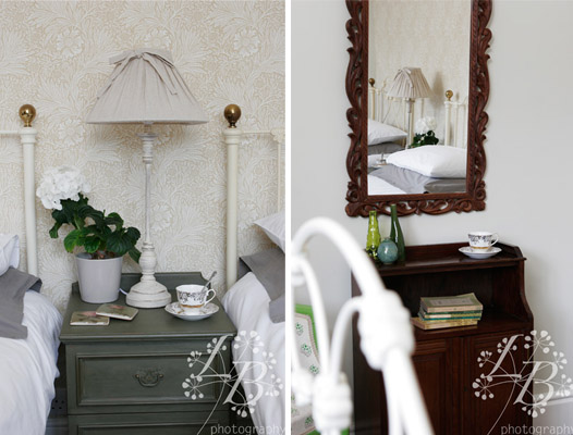 Shabby Chic Painted Mirrors With Shabby Chic Painted